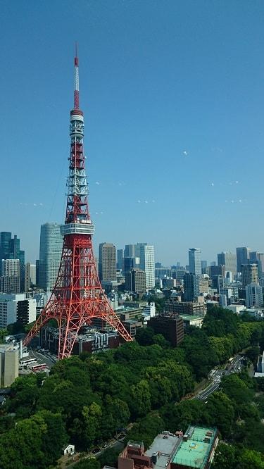 ザ・プリンスパークタワー東京 パノラマ33 窓からの景色