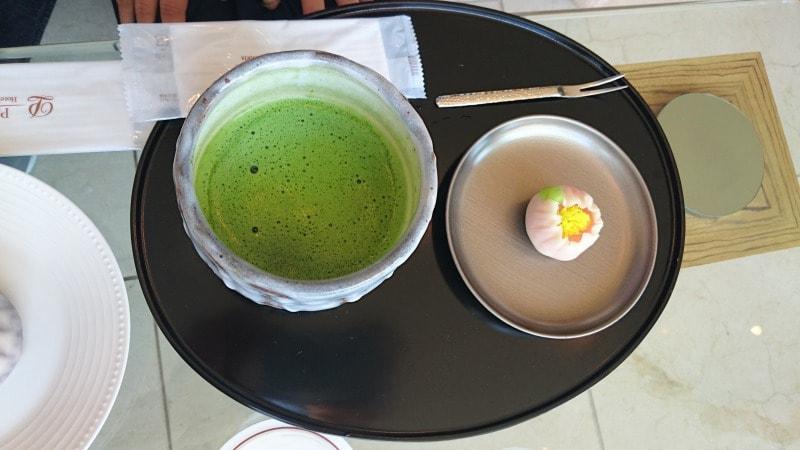 ザ・プリンスパークタワー東京 ロビーラウンジ 抹茶