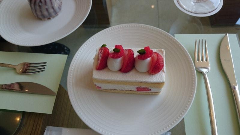 ザ・プリンスパークタワー東京 ロビーラウンジ ショートケーキ