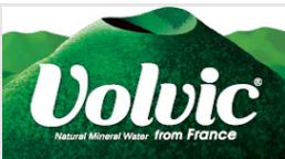 Volvicのロゴ画像