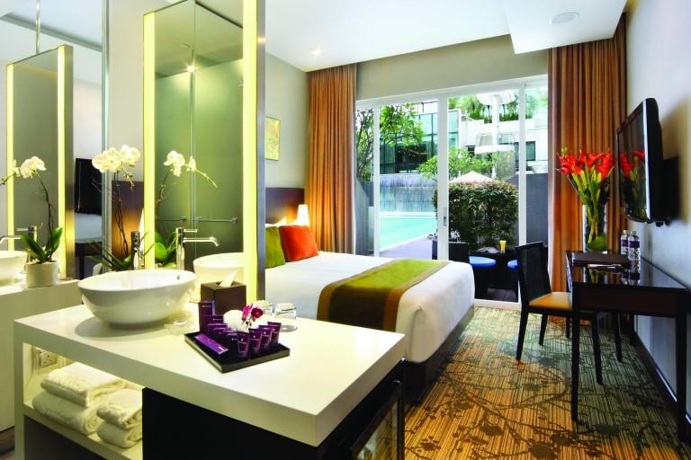 PARK REGIS Singaporeの部屋
