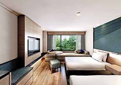 伊豆マリオットホテル修善寺の客室