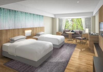 富士マリオットホテル山中湖の客室