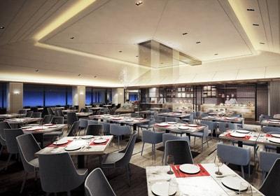 琵琶湖マリオットホテルのレストラン