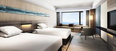 南紀白浜マリオットホテルの客室