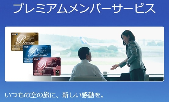 ANAプレミアムメンバーサービスのイメージ画像