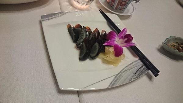グランドプリンスホテル新高輪「中国料理 古稀殿」のピータン