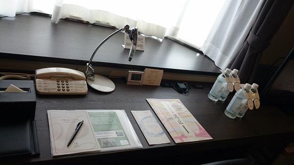 品川プリンスホテルNタワーの部屋 デスク