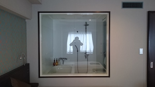 品川プリンスホテルNタワーの部屋 お風呂