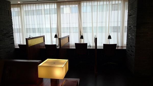 品川プリンスホテル Nタワー ビジネスラウンジ 個人スペース