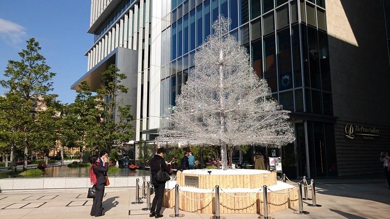 ザ・プリンスギャラリー東京紀尾井町前のツリー