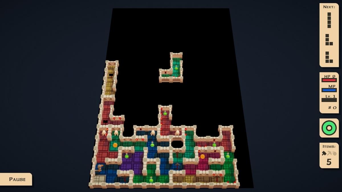 4-Block Dungeon