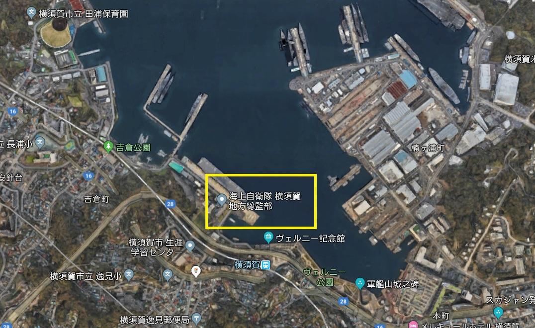 Googleマップ 横須賀
