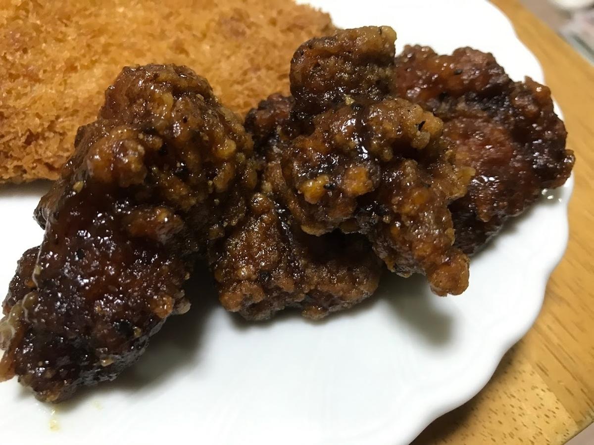 大人の辛揚げ ピリ辛黒胡椒ソース