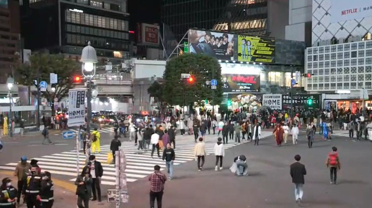 渋谷ハロウィン シブハロ スクランブル交差点