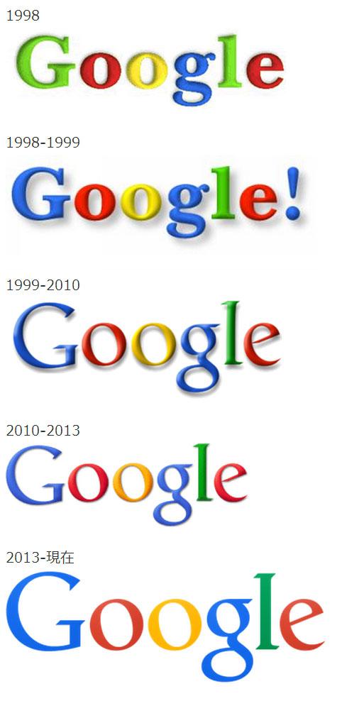 Google歴代ロゴ