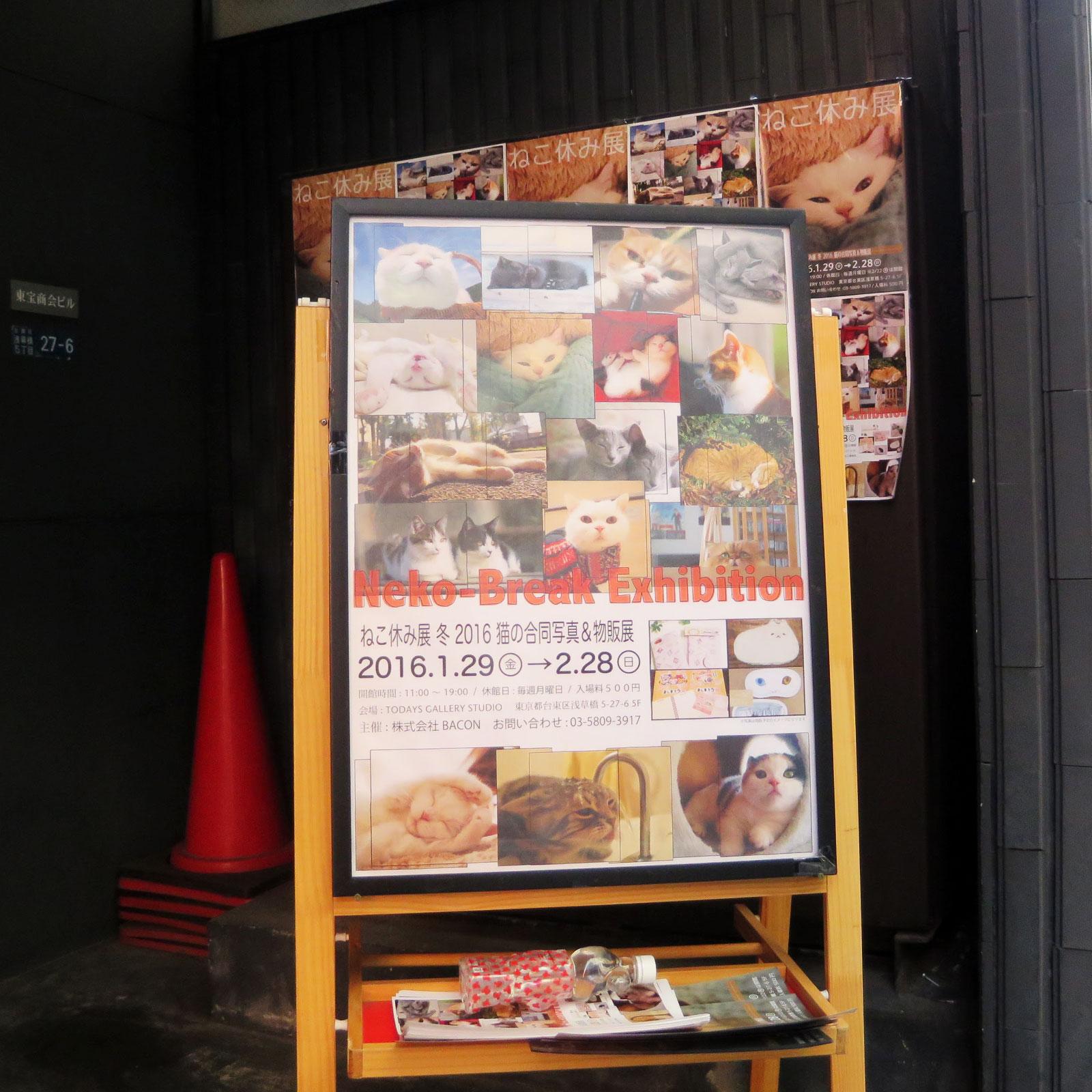 ねこ休み展・冬・2016