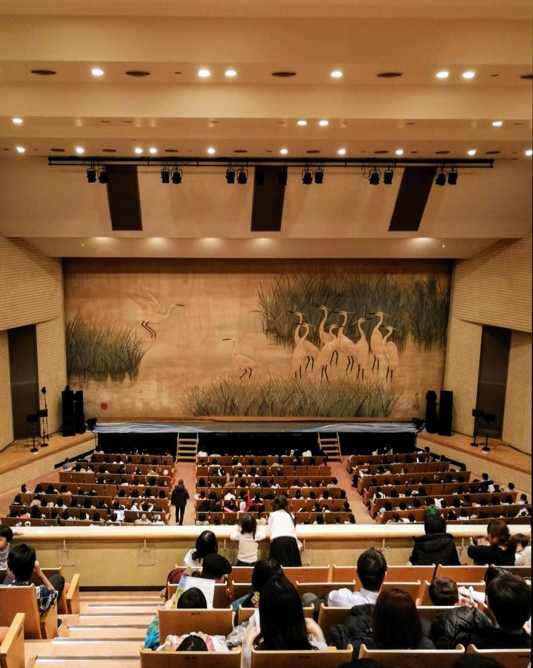 板橋区立文化会館 劇場内