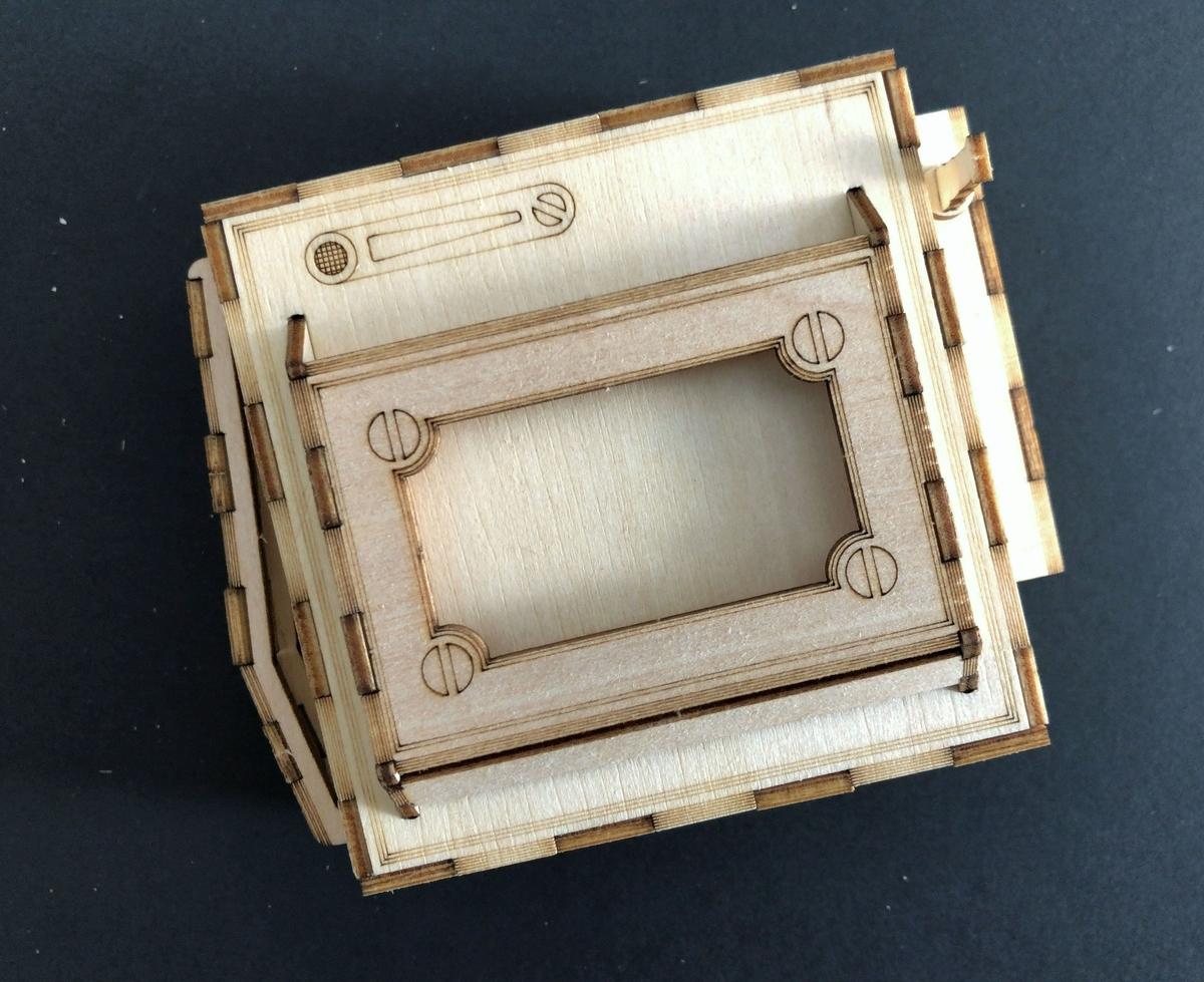 3Dウッドパズル 室内 台風 雨の日 DIY
