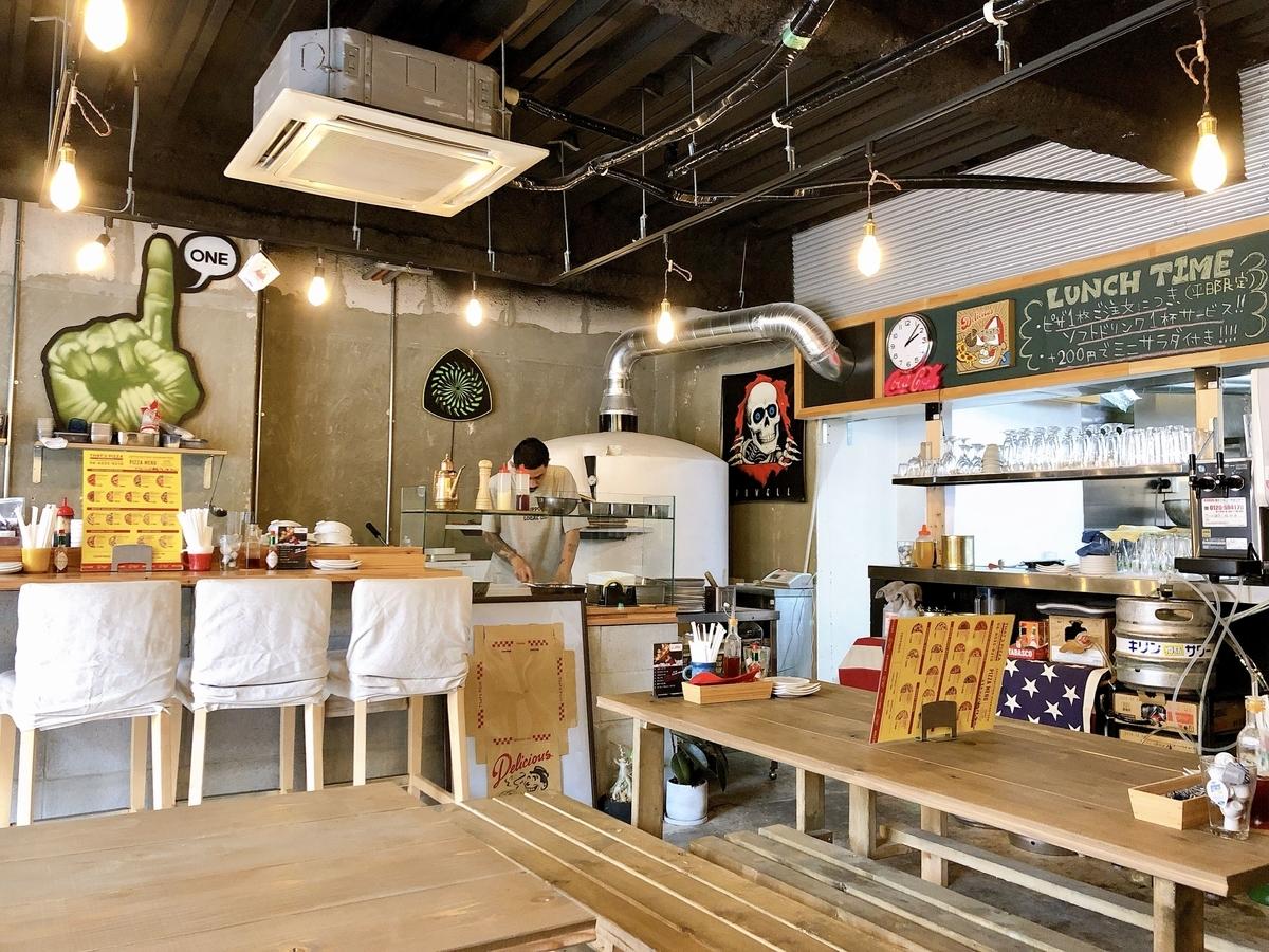 ザッツピザ That's Pizza 堀江 ピザ 西区