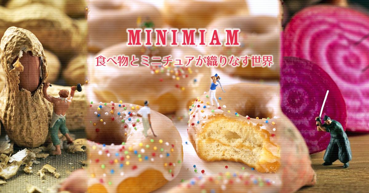 井田晃子さんの「Minimiam(ミニミアム)」