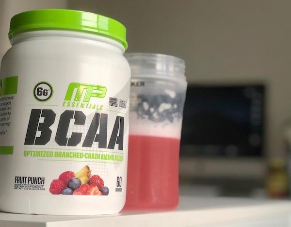 MusclePharm社のBCAAの写真