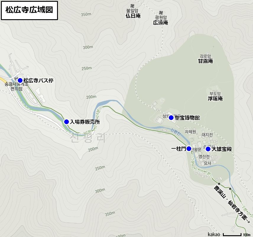 松広寺広域図