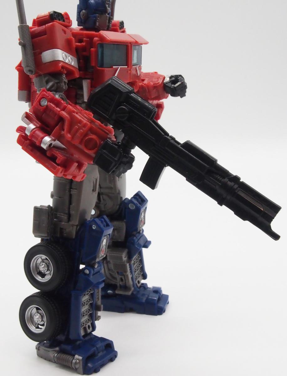 オプティマスに付属の銃