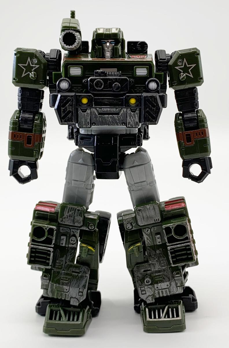 SIEGE WFC-S9 ハウンド ロボットモード正面