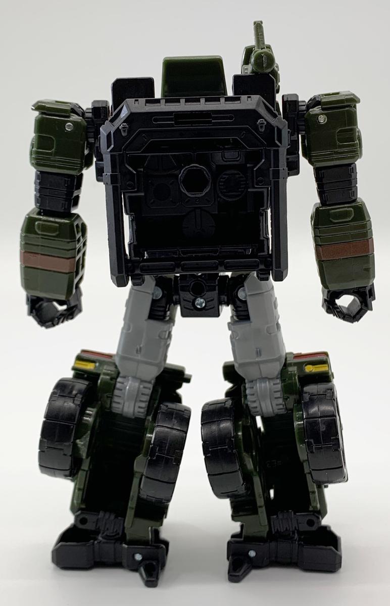 SIEGE WFC-S9 ハウンド ロボットモード背面