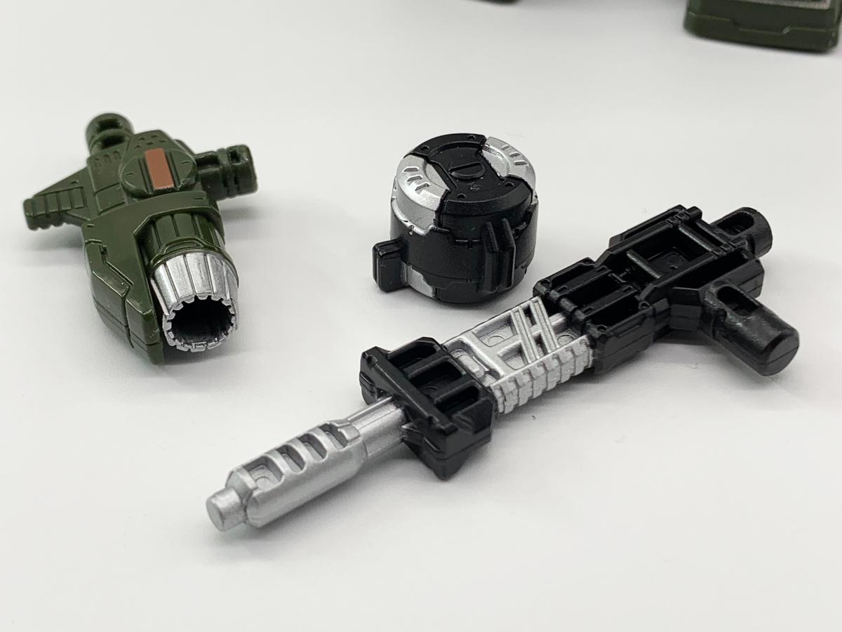 SIEGE WFC-S9 ハウンド 付属品