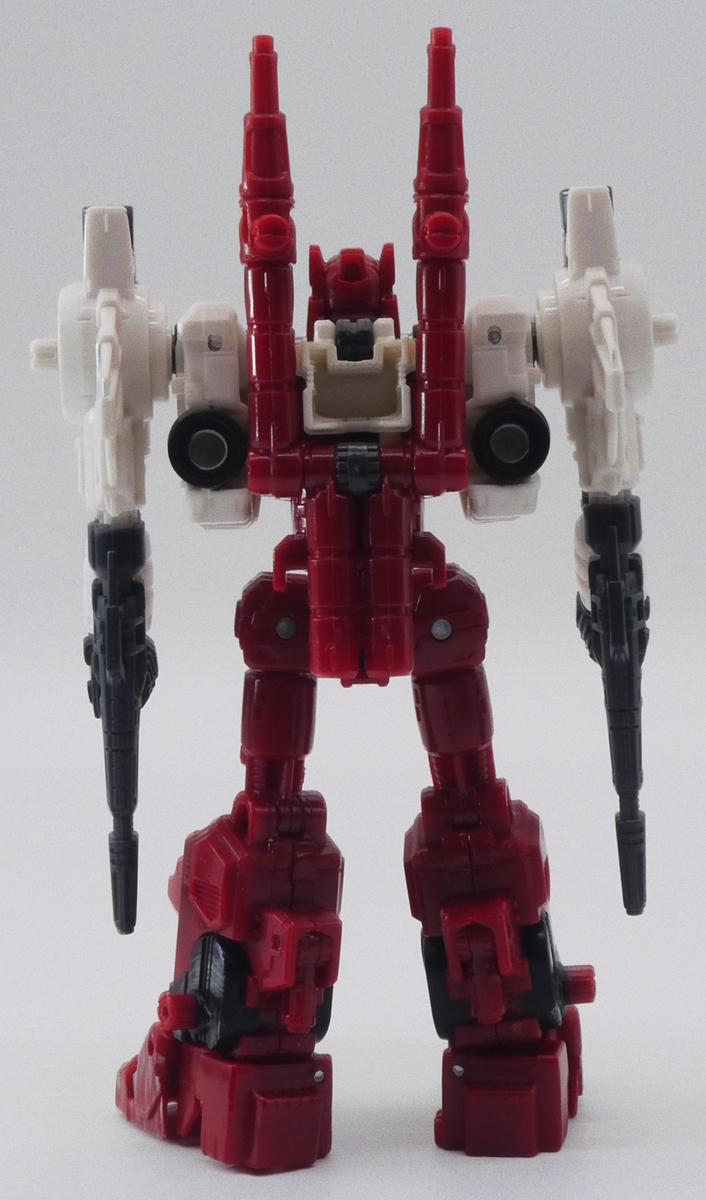 オートボット シックスガン 背面