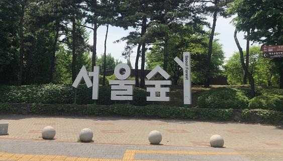 ソウルの森入口