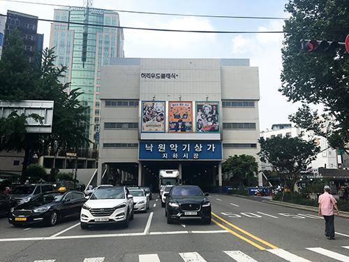 楽園楽器商店街(仁寺洞・鍾路)