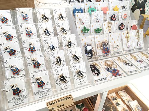 サムジキル 猫雑貨jaehoimin(グリムジェンイミン)のお店