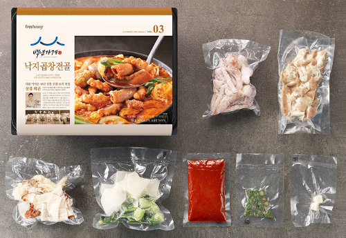 韓国「百年の店」長興会館タコもつ鍋Meal-kit by fresheasy