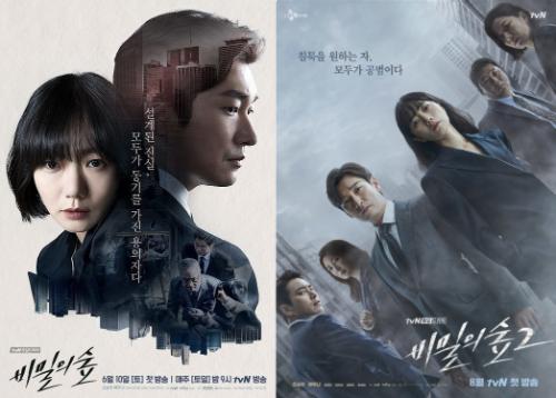 韓国ドラマ「秘密の森」シリーズ