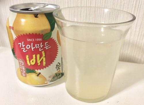 韓国飲料 ヘテ「ぶどうジュースボンボン・梨おろしジュース」