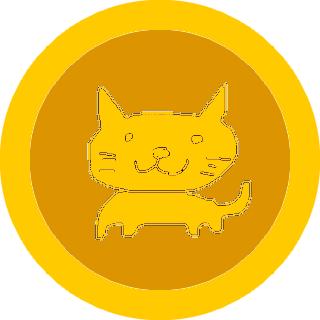 仮想通貨「自由ネココイン」の想像図