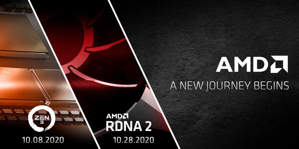 公式』Ryzen『Zen3』は10月8日発表。RDNA2(BigNavi)は10月28日 - ギャズログ GAZ:Log