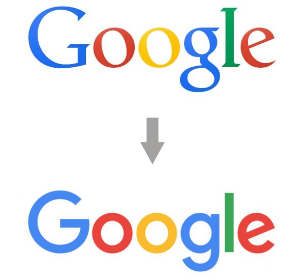 Googleのロゴが新しく
