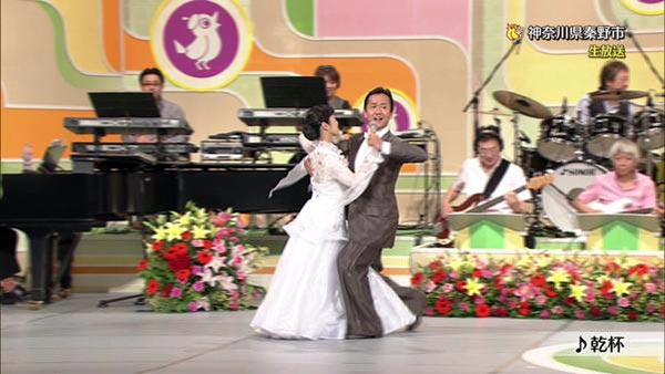NHKのど自慢で初の社交ダンス