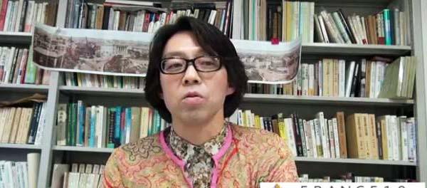 女装の東大教授・安冨歩さん