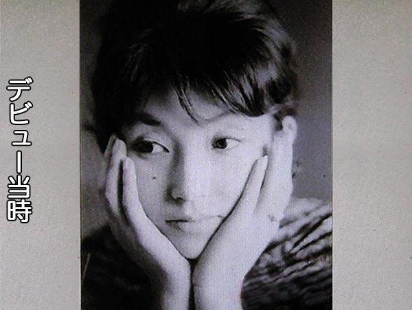 若かりし徹子の写真