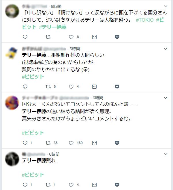 テリー伊藤についてのツイート