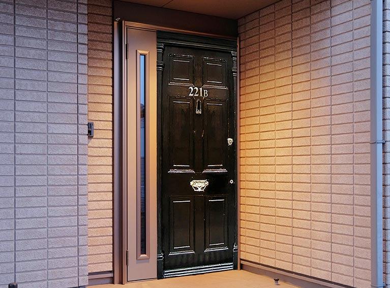 ベーカー街221Bドア