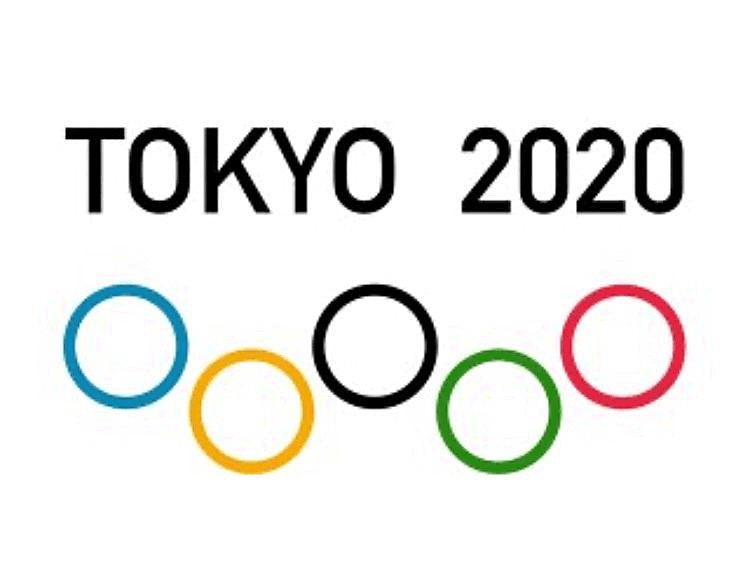 東京オリンピックのソーシャルディスタンス・ロゴ