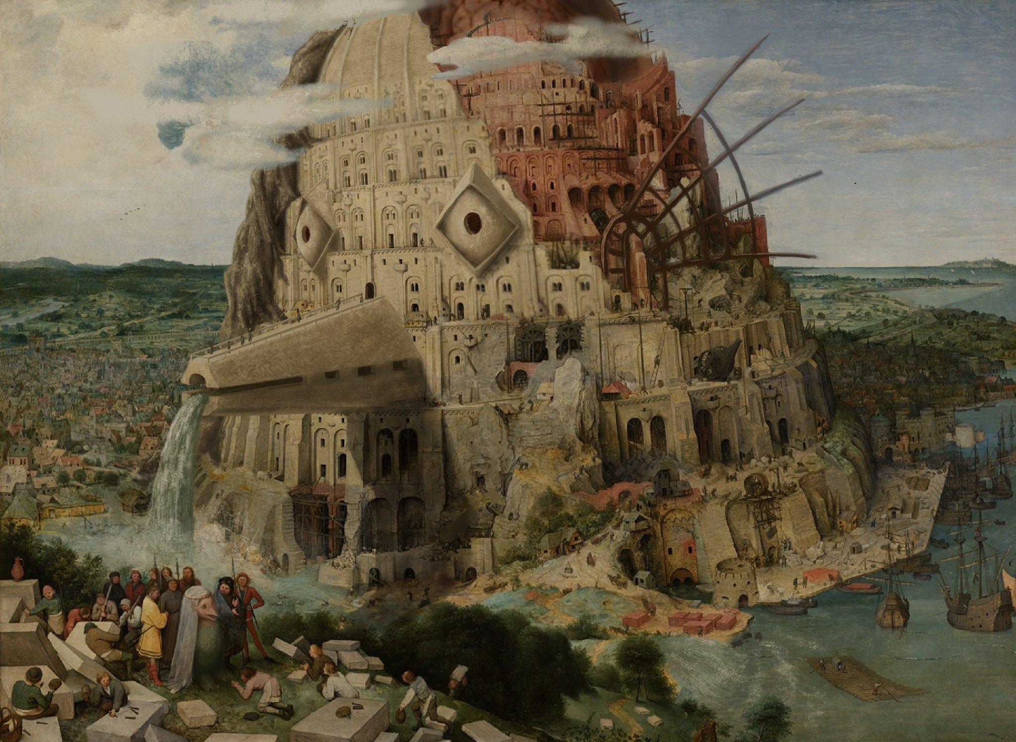 ピーテル・ブリューゲル 「バベルの塔」