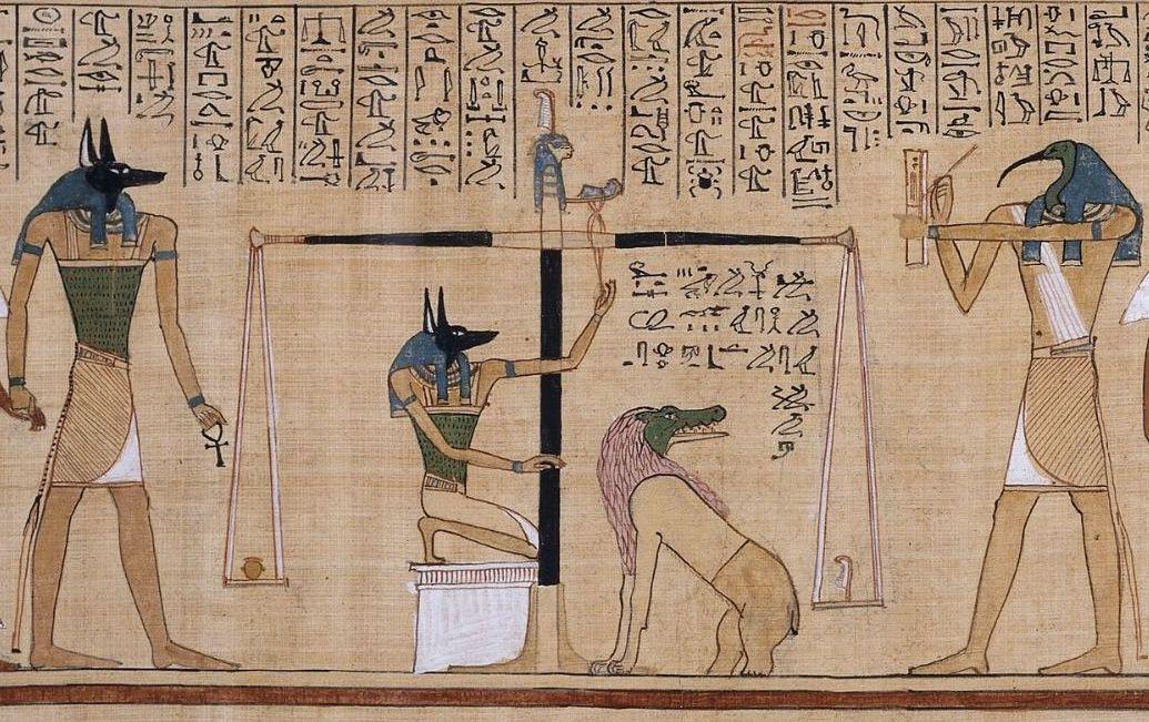 「エジプト死者の書」