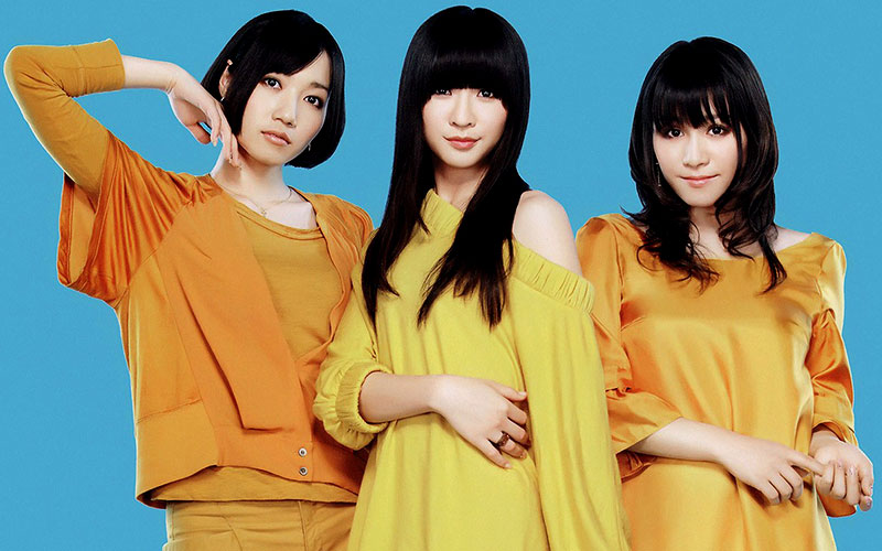 Perfumeとキャンディーズ 黄色系の衣装